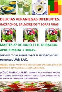 Nuevo curso de cocina en Garaulet Cartagena