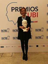 Premio Cubi  a Marta Garaulet