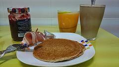 Un rico desayuno equilibrado