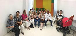 Charla para los miembros de la ONCE en Garaulet Cartagena