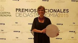 ¡¡No podemos estar más orgullosos!! Marta Garaulet, Premio Nacional de Gastronomía 2015