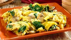 Receta Para Comer Sano Champiñon Con Jamón Y Huevo